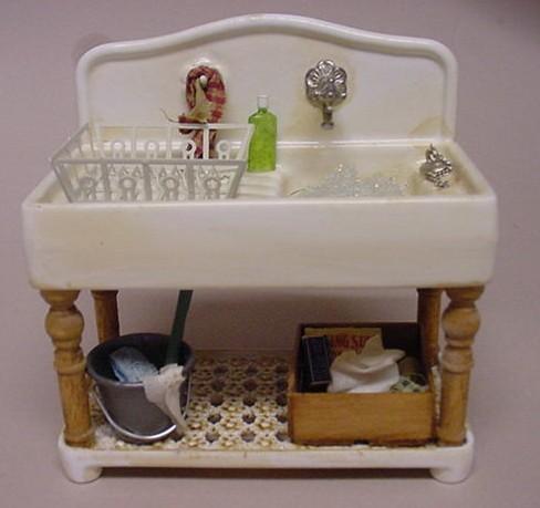 Kitchen Sink - Aged & Kitchen Sink - Aged - $49.75 : Kentu0027s Mini Treasures Artisan ...