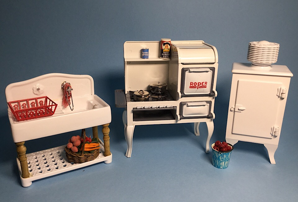 Kent S Mini Treasures Artisan Dollhouse Miniatures